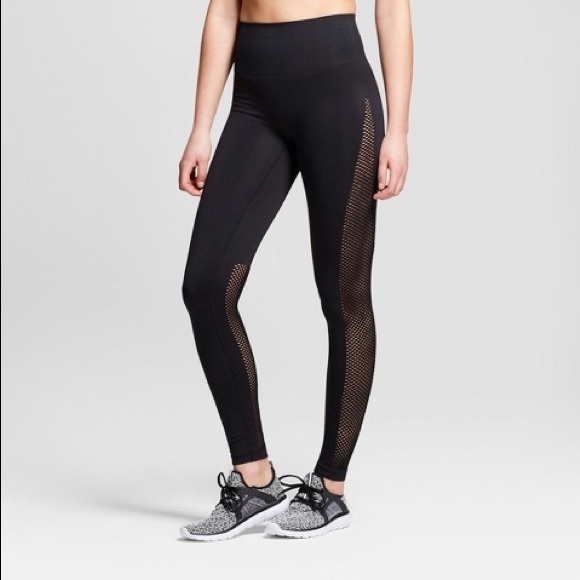 951d01f6a9c Joy Lab Seamless 7 8 High Waist Laser Cut Leggings